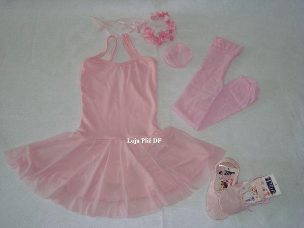 6aafcb48ee Kit Ballet Infantil para Aulas - Loja Pliê - Artigos para Dança e ...