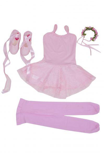 affe37f156b81f Kit Ballet Infantil Em renda - Loja Pliê - Artigos para Dança e ...