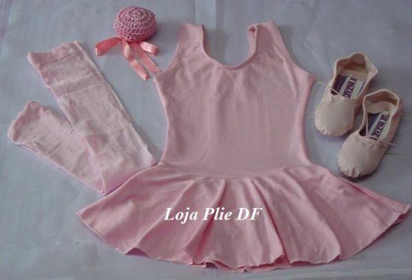 f817feca6f9e30 kit ballet Infantil ROSA para aula - Loja Pliê - Artigos para Dança ...