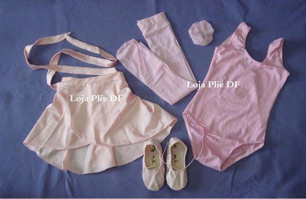 43be08a75755e5 kit ballet Infantil para aula - Loja Pliê - Artigos para Dança e ...